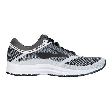 Brooks Revel Men's Running Shoe - White / Anthracite / Black