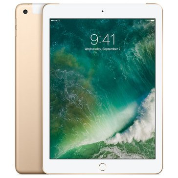 NEW - Apple 9.7-Inch iPad 128GB Wi-Fi + Cell - Gold MPGC2LL/A