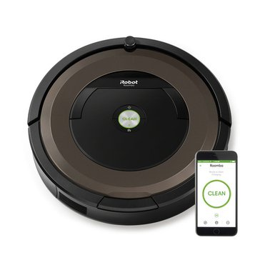 iRobot Roomba 890 Wi-Fi Connected Vacuum Cleaning Robot (R890020)
