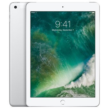NEW - Apple 9.7-Inch iPad 128GB Wi-Fi + Cell- Silver MP2E2LL/A