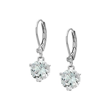 Kate Spade Rise And Shine Leverback Earrings, Silver