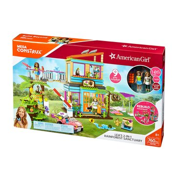 Mega Bloks American Girl Lea's 2-in-1 Rainforest Sanctuary