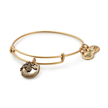 Alex and Ani Mermaid Expandable Bangle, Gold Finish