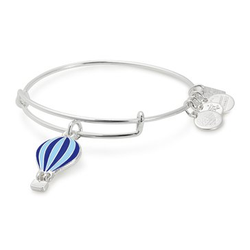 Alex and Ani Charity By Design We Rise Expandable Bangle, Silver Finish