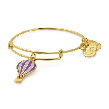 Alex and Ani Charity By Design We Rise Expandable Bangle, Gold Finish