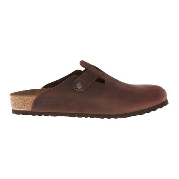 Birkenstock Boston Women's Clog Habana Oiled Leather