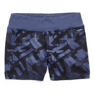 Jockey Women's College Texture Printed Bike Shorts