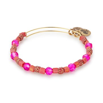 Alex and Ani Dragonfruit Coral Bangle