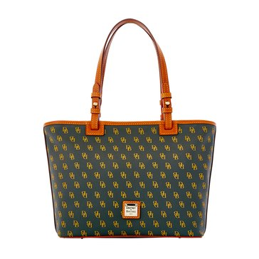 Web Exclusive! Dooney & Bourke Gretta Small Leisure Shopper Smoke