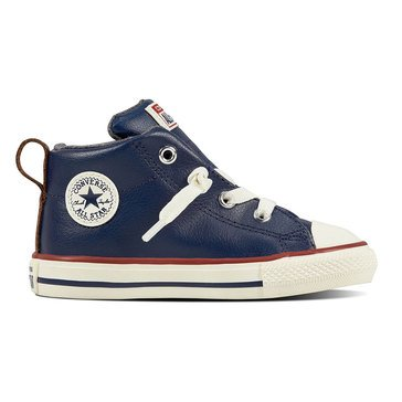 Converse Chuck Taylor All Star Street Mid Boys Sneaker Midnight Navy