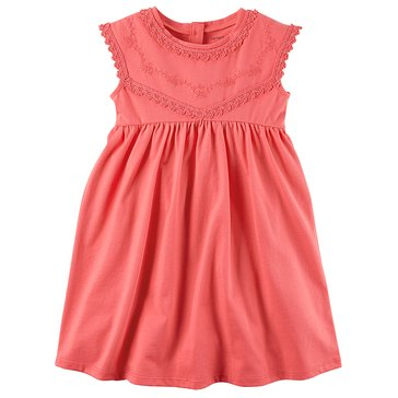 Carter's Toddler Girls' Knit Dress, Pink