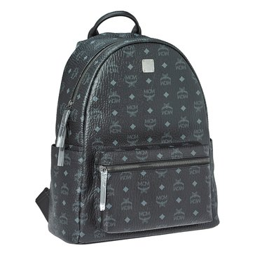 MCM Stark Medium Backpack Black