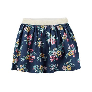 Carter's Little Girls' Flower Print Skirt