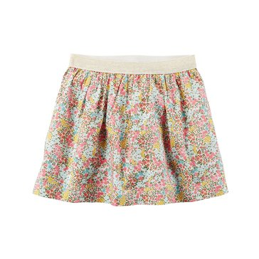 Carter's Little Girls' Ditsy Print Skirt