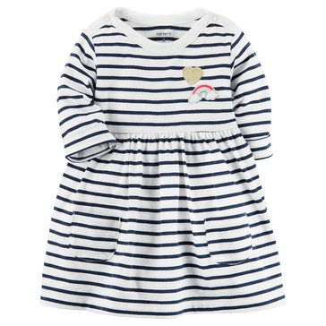 Carter's Baby Girls' Long Sleeve Knit Dress