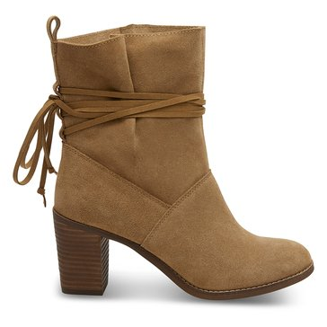 Toms Mila Women's Suede Boot Toffee