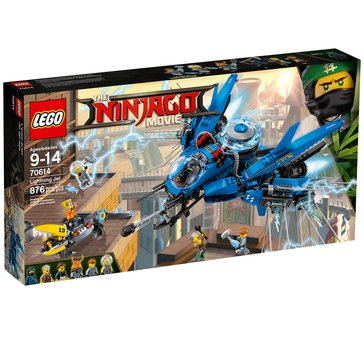 LEGO The Ninjago Movie Lightning Jet (70614)