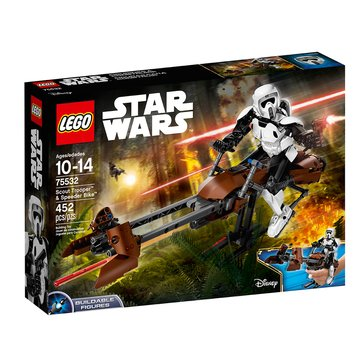 LEGO Scout Trooper & Speeder Bike (75532)