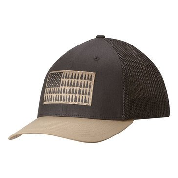 COLUMBIA MESH CAP SHARK/TREE PATCH