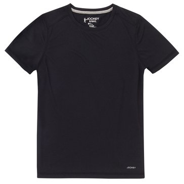 Jockey Big Boys' Tee, Black