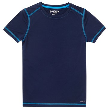 Jockey Big Boys' Tee, Navy