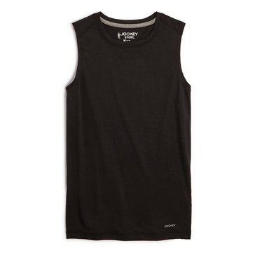 Jockey Big Boys' Tank, Black