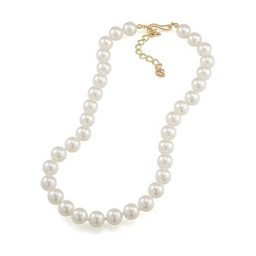 Carolee The Hope White Sim Pearl Choker