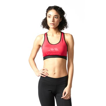 Adidas Women's Tech Fit Branded Badge Of Sport Bra