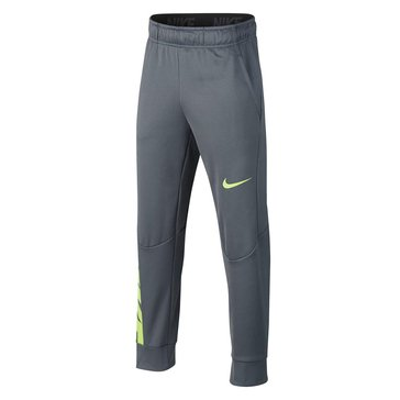 Nike Big Boys' Therma GFX Pants, Cool Grey
