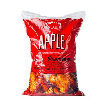 Traeger Apple BBB Hardwood Pellets, 20 Lb Bag