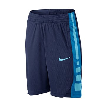 Nike Big Boys' Elite Stripe Shorts, Blue
