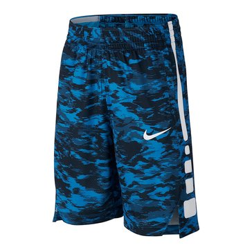 Nike Big Boys' Elite Stripe Shorts, Photo Blue