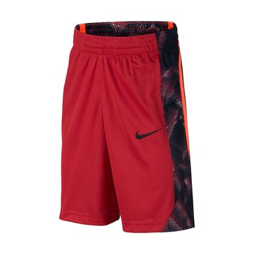 Nike Big Boys' Avalanche AOP Shorts, Red