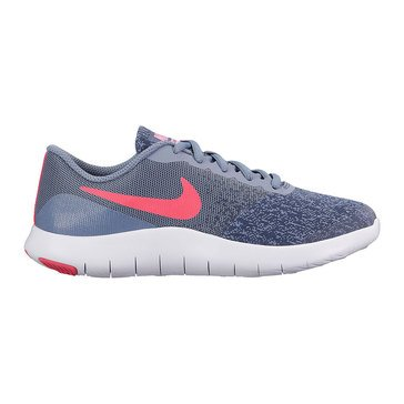 Nike Flex Contact  Girls Running Shoe  Dark Sky Blue/ Pink