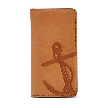 Fossil Gifts Troy Phone Wallet - Saddle