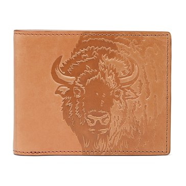 Fossil Wallet - RFID Luke Bifold - Saddle
