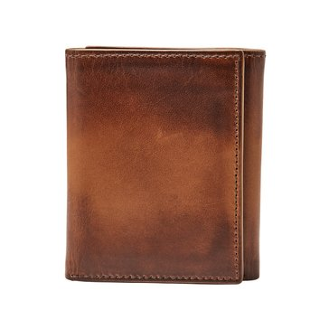 Fossil Wallet - RFID Paul Trifold - Cognac