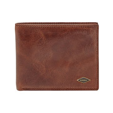 Fossil Wallet - RFID Ryan Bifold -Dark Brown