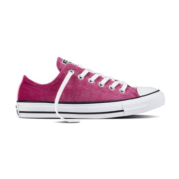Converse Chuck Taylor All Star Women's Velvet Oxford Pink Sapphire