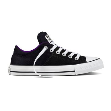 Converse Chuck Taylor All Star Madison Women's Sneaker Black/ White/ Night Purple
