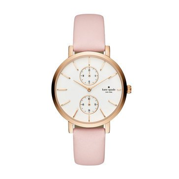 Kate Spade Women's Monterey Pink/Rose Gold Watch, 38mm