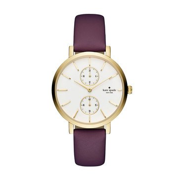Kate Spade Women's Monterey Purled/Gold Watch, 38mm