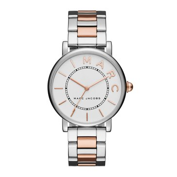 Marc Jacobs Women's The Roxy Watch MJ3551, Stainless Steel/ Rose Gold 36mm