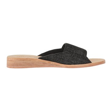 Free People Daybird Mini Wedge Women's Slide Sandal Black