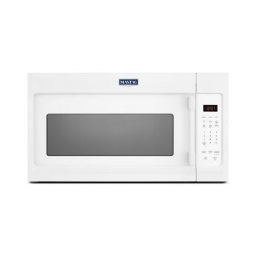 Maytag 1.7-Cu.Ft. Over-The-Range Microwave Oven, White (MMV1174FW)