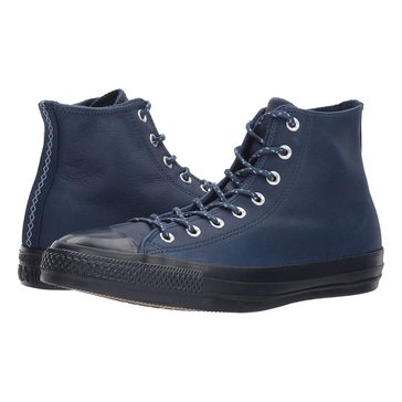 Converse Chuck Taylor All Star Leather Thermal-Hi Men's Basketball Shoe - Midnight Navy / Blue Slate / Inked