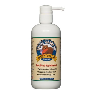Grizzly Salmon Oil Supplement for Dogs, 16 oz.