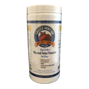 Grizzly Joint Pellet Supplement Aid for Dogs, 10 oz.