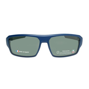 Tag Heuer Unisex Racer 2 Polarized Sunglasses 9222-106, Blue/ Grey 69mm