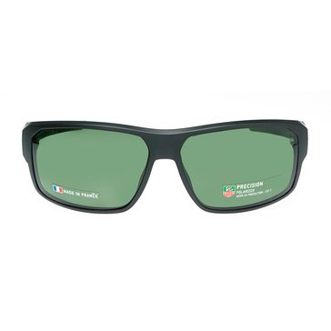 Tag Heuer Men's Racer 2 Polarized Sunglasses 9223-304, Matte Black/ Green 70mm